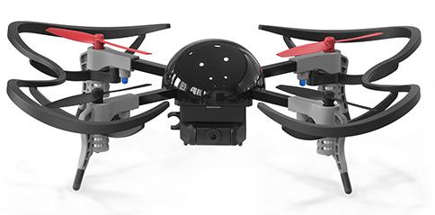 Microdrone 3.0 con protezioni