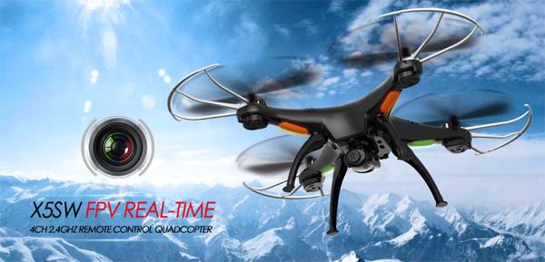Drone Syma X5SW FPV Real Time – recensione e prezzo